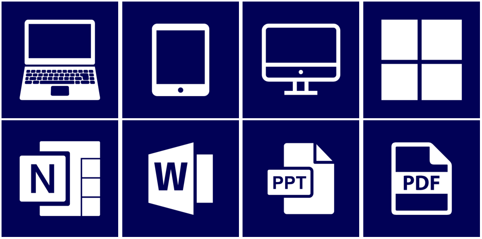 Assistive technology icons