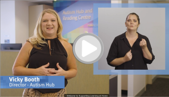 autism hub video - supporting learning
