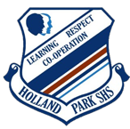 Holland Park State High School logo